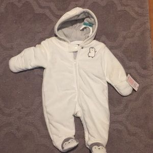NWT 3 month winter suit